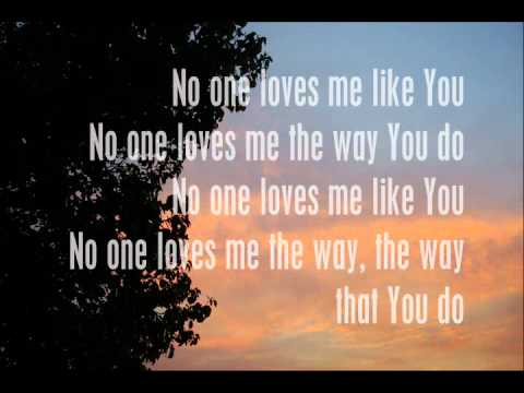 Nobody can love me like you do lyrics