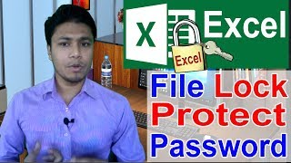 How to Lock / Protect / Encrypt / Password in MS Excel File | Microsoft Excel Bangal Tutorial 2018