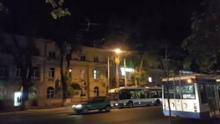 Обрыв контактной сети электротранспорта. 1.05.2017