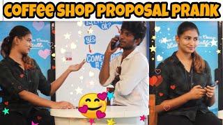 Beauty girl proposal prank   love proposal   Mano   vaaya moodra