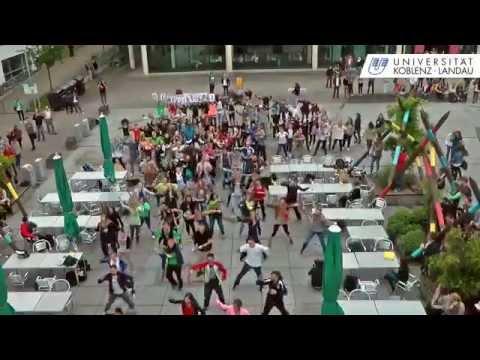 Flashmob auf dem Mikadoplatz
