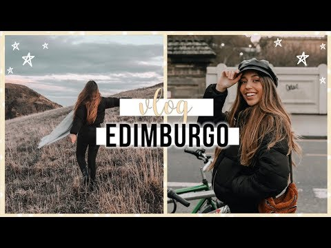 VLOG EDIMBURGO!   Maria Rodrigues