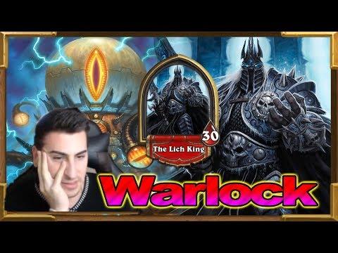 Hearthstone: Lich King (BOSS) Warlock - Mecha'thun Renolock