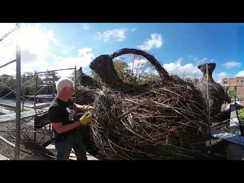 360 Video | Stick Sculptures at the Ackland Art Museum
