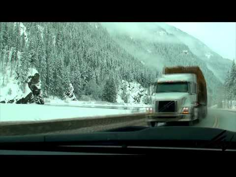 Calm, peaceful reflections , driving  Rocky Mtns  from BC to Alberta  - YouTube