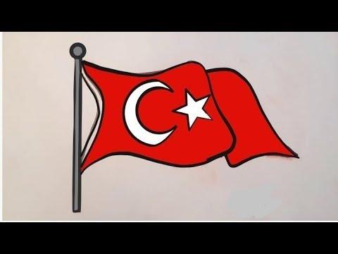 Barış Harekatı TÜRK Bayrağı Çizimi...