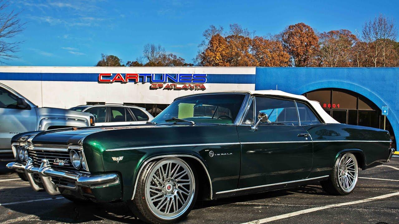 "Car Tunes Atlanta: Cartunes Atlanta : 66 Chevrolet Impala On 20"" Vossen LC"