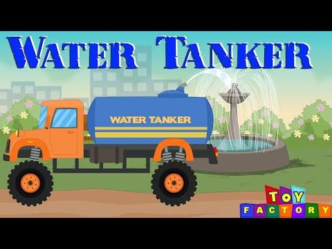 Water tanker for children | Monster trucks for children | Trucks for kids