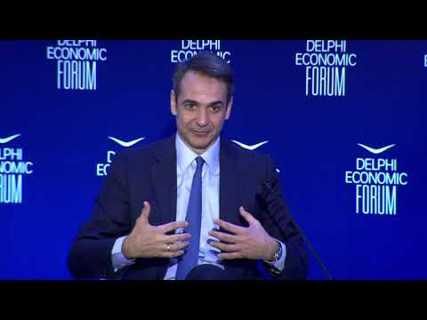 Fireside Chat - Kyriakos Mitsotakis And Peter Spiegel | DEF 2019