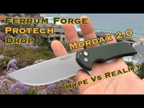 "Ferrum Forge/Protech/Drop Mordax 2.0 ""Hype Vs Reality"""