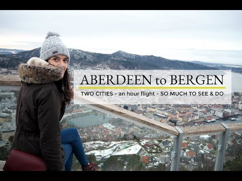 ABERDEEN to BERGEN: THINGS TO DO & SEE BEFORE CHRISTMAS!