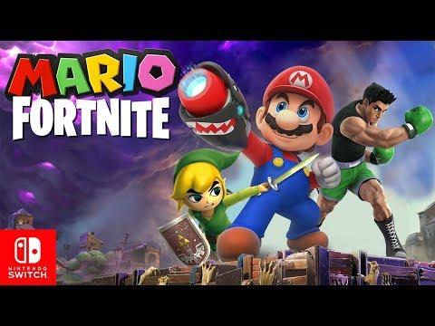 MARIO FORTNITE On Nintendo Switch?