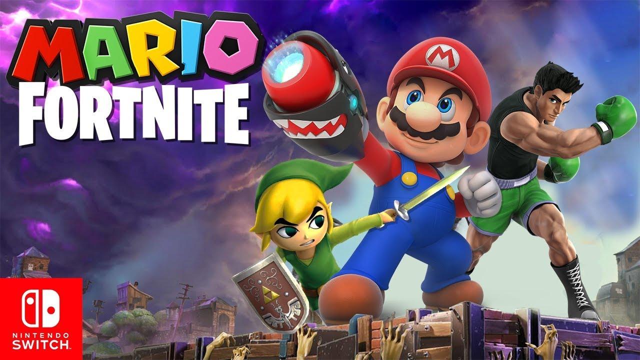 Mario Fortnite On Nintendo Switch Youtube