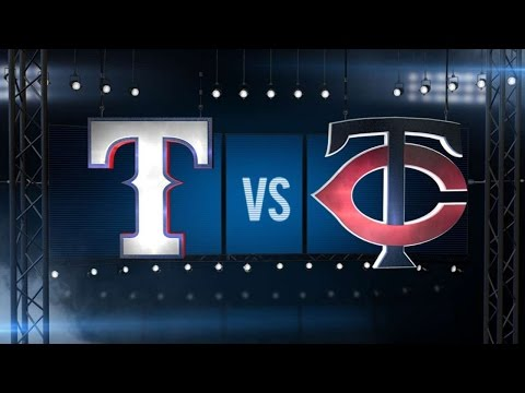 7/2/16: Twins, Kepler pour on runs to rout Rangers