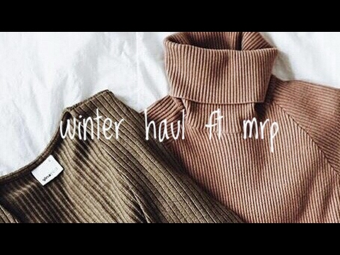 Winter Try On Haul ft. MRP Clothing | South African YouTuber