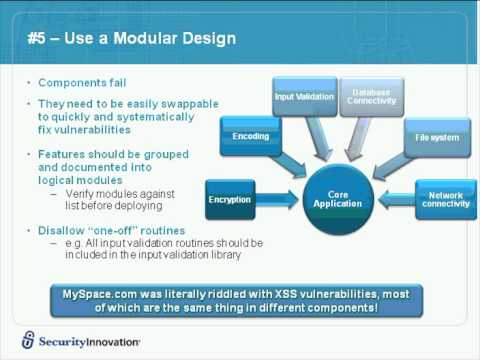 Webcast How To Architect Secure Web Applications Youtube