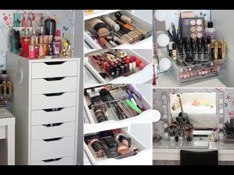 Makeup Collection And Storage 2014 Youtube