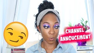 Channel Announcement 2018 | NikkiBeautyBliss