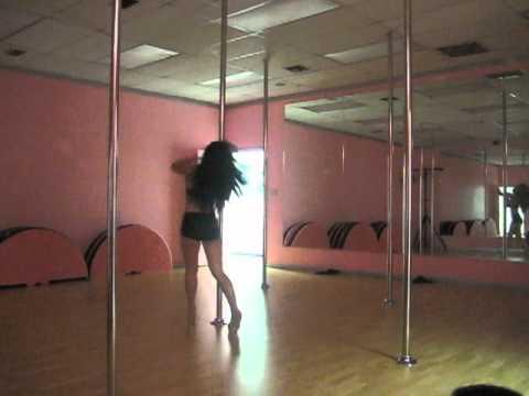 Pandora - pole freestyle - Even If It Breaks Your Heart