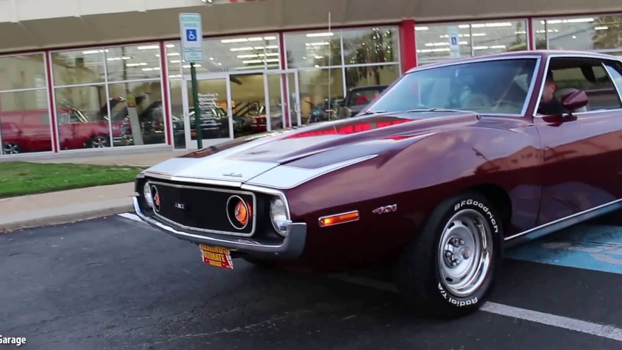 73 Amc Javelin Amx Amx For Sale With Test Drive Driving Sounds And