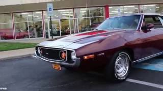 73 AMC JAVELIN AMX AMX for sale with test drive, driving sounds, and walk through video