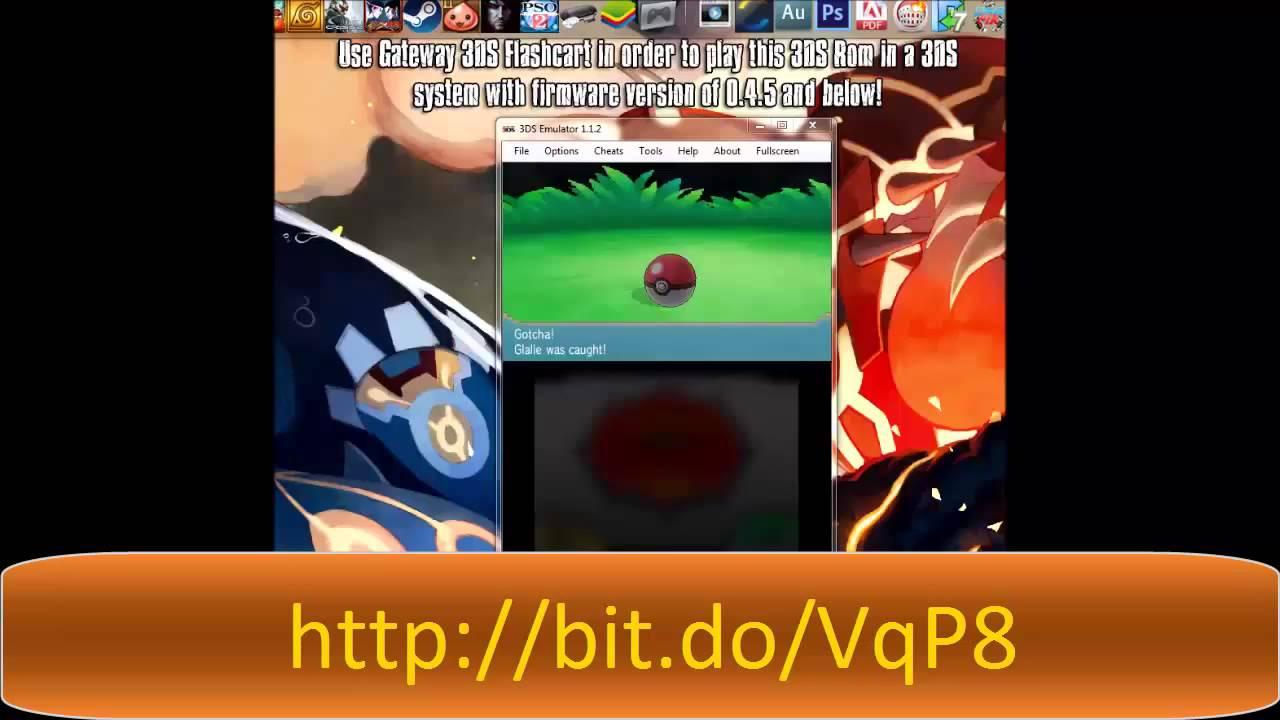 Pokemon Omega Ruby 3Ds Rom