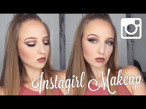 INSTAGRAM GIRL MAKE-UP Tutorial / SabrinaMloves