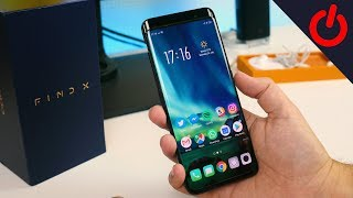 Oppo Find X unboxing - Most intriguing phone of 2018?