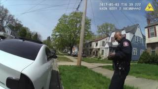 Graphic content: Body camera footage of officer involved shooting of Malik Carey