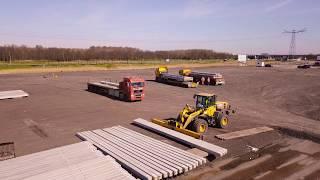8.000 Heipalen Voor Nieuwbouw Flamco Almere