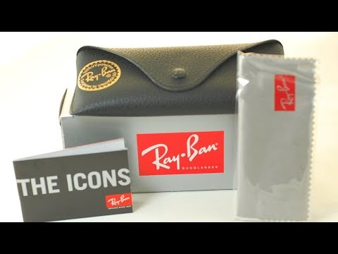 Unboxing: Ray Ban Aviator Classic G-15 lenses.