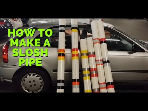 How to Make a Slosh Pipe