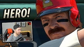 HE SHOWED UP TO THE FIELD ANGRY! MLB THE SHOW 18 BATTLE ROYALE