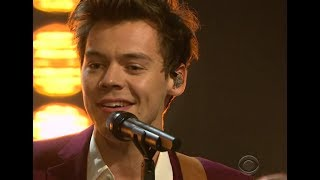 Harry Styles - Carolina Live on The Late Late Show With James Corden HD