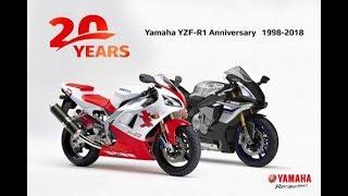 """Tin nhanh 24/7 - Ra mắt Yamaha R1 bản kỷ niệm 20 năm trở lại """"thời tiền sử""""."""