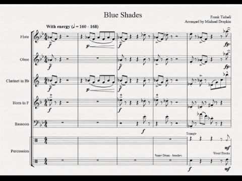 Blue Shades, for Woodwind Quintet + Drums