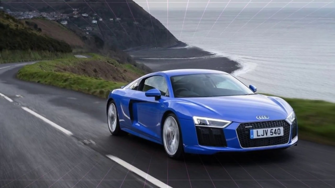 Audi R8 V10 Rws 2018 Blue Exterior Youtube