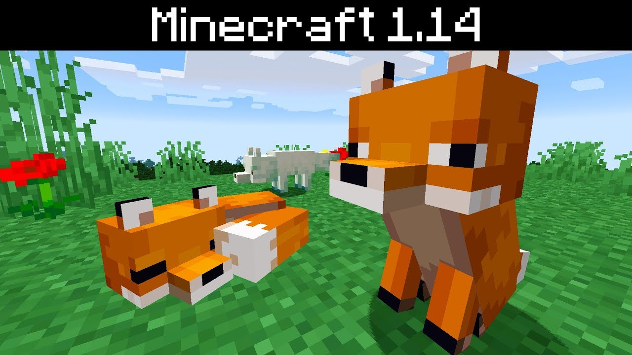 Minecraft 12.124 - Foxes  Where To Find, Hunting, Breeding, Arctic Fox  Variant