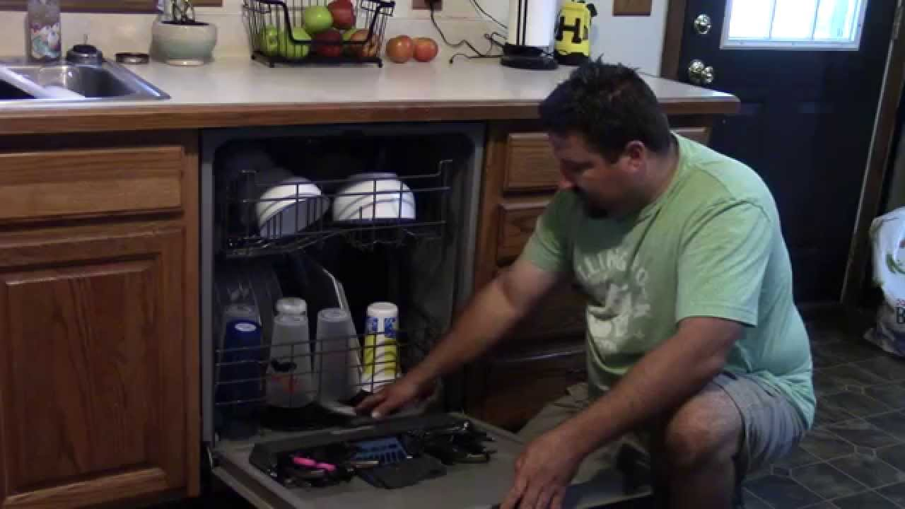 Problem with GE Dishwasher on