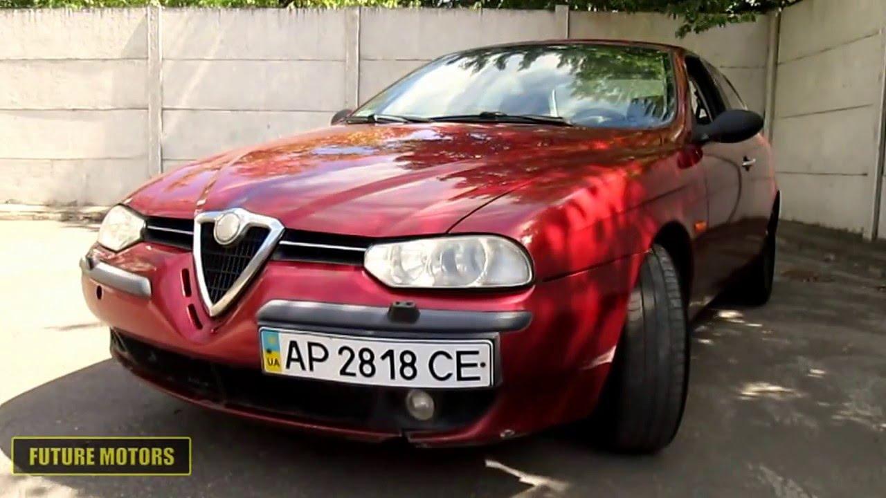 Тест-драйв Alfa Romeo 156 .