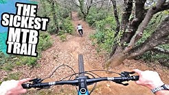 RIDING THE SICKEST MTB TRAIL AND HUGE JUMP LINES!