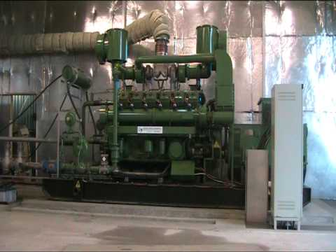 Quantum Power Limited 500kW BioGas Generator - Star Up