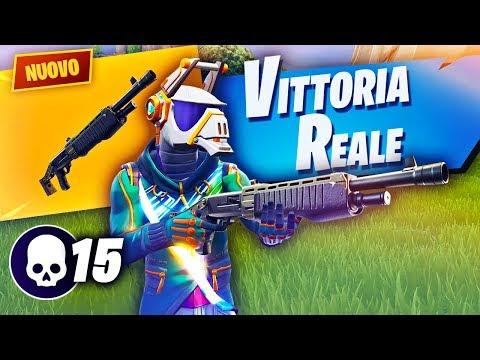 VITTORIA col *NUOVO* POMPA!! Troppo Forte?? Fortnite Battle Royale ITA!