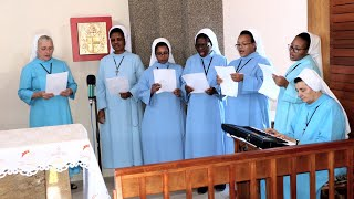 LITANY of SACRED HEART of JESUS in ZULU  sung by LSMI  Sisters in Port Shepstone