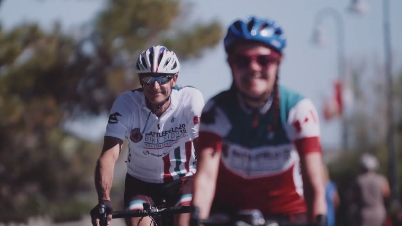 Wounded Warriors bike ride in Europe - YouTube 0d30901c3