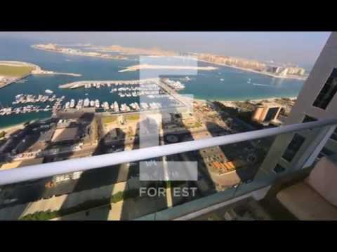 Full Sea View | 3 BR + Maid's | Emirates Crown