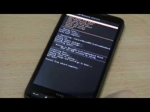How to Install Android 4.0 Ice Cream Sandwich on HTC HD2?