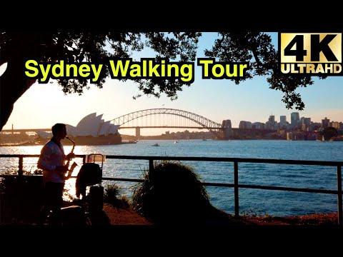 [4K] SYDNEY WALKING TOUR | ROYAL BOTANIC GARDEN 🌸 | MRS MACQUARIE'S CHAIR | THE CLYX | OPERA HOUSE
