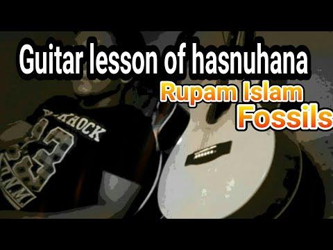 Chords for Hasnuhana by fossils lyrics - chordu.com