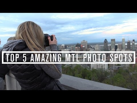 TOP 5 BEST MONTREAL PICTURE PLACES
